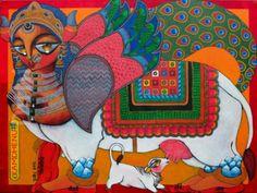 Dithi Chakraborthy's illustrations