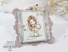 Romantic Rain | Card for Craft Heaven Shop