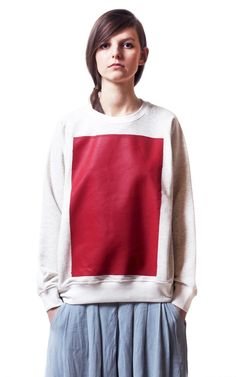 An affordable ready to wear style. Ready To Wear, Unisex, Sweatshirts, Doodle, Red, How To Wear, Shopping, Collection, Tops