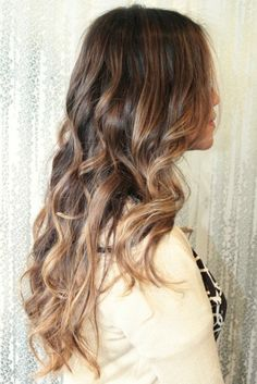light brown ombre highlights | The Beauty Thesis