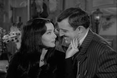 Gomez and Morticia. I'd like to have a marriage like this :P