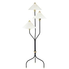 Floor Lamp 2599 Brass/Black | Svenskt Tenn