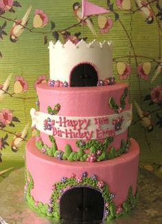 LITTLE GIRL BIRTHDAY CAKES IMAGES | ... birthday cake that I did for a little girl's 4th birthday party