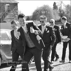 The groomsmen arriving at West Mill. #westmillweddingvenue #merv_spencer #fieldphotographicportraits #groommen | From Field Photographic Portrait Studio | http://ift.tt/20TBije