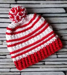 3ebd1033f39 Winter Olympics - Country color hats - Canada - Poland - Japan - red white  - crochet beanie - support your country - 2018