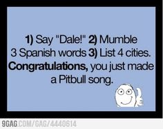 How to make your own Pitbull song