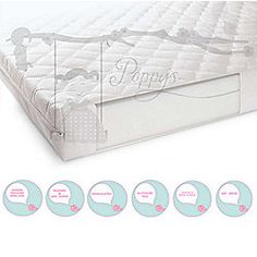 Baby Cot Bed Mattress 140cm X 70cm 10cm Foam