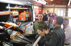 Here is Frank Bondra with Holmatro - Rescue Tools and Extrication Equipment showing off their extensive line of rescue tools.  To see what Holmatro has to offer click here. https://www.nafeco.com/resources/info/Vendor?VendorName=Holmatro_Inc&VendorID=HOL100