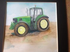 John Deere Tractor by HermIt46 on Etsy