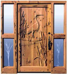 Unique Front Door Handles   Home › Doors › Doors - Hand Carved Entrances › Entry Doors ...