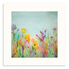 Musical Garden Abstract Wall Art by Georgina Vinsun. Get it now or find more All Wall Art at Temple & Webster.