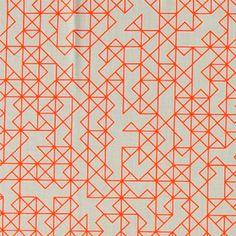 Bomull sand m orange streckm Pattern Illustration, Graphic Illustration, Graphic Patterns, Print Patterns, Orange Pattern, Eye Candy, Texture, Quilts, Fabric