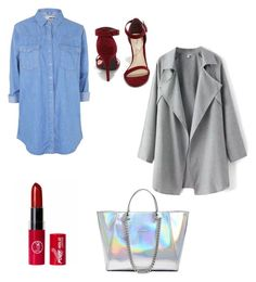 """""""#139"""" by oceane-vantwembeke ❤ liked on Polyvore featuring Topshop, Anne Michelle and GUESS"""