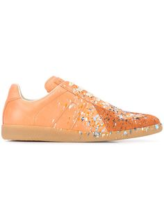 MAISON MARTIN MARGIELA Embellished Ace Sneakers. #maisonmartinmargiela #shoes #sneakers