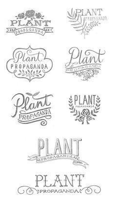 plant logos - Google Search