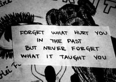 This would really help me a lot because I constantly think about my past.This is awesome.