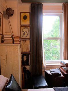 Watercolors I Mats Gustafson Brooklyn Apartment, Manhattan Apartment, New York City Apartment, Small Space Living, Small Spaces, Mats Gustafson, Downtown Lofts, East Village, Small Apartments