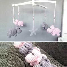 Cute Hippo AmigurumiThe patterns are very easy to follow. You can make them for you, your friends, and everyone you know who loves Hippos. Full Post:Cute Hippo Amigurumi