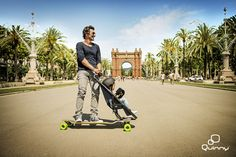 The Quinny LOngboard Stroller Test Event In Beautiful Barcelona Video