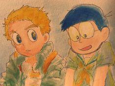 Best Friend Songs, Best Friends, Doraemon, Flocking, Fan Art, Painting, Beat Friends, Bestfriends, Painting Art