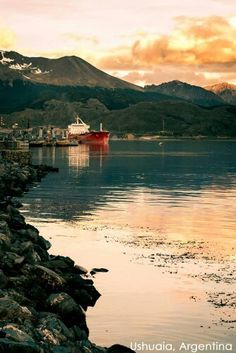 Are you ready to view Ushuaia, Argentina's stunning sunsets? barretttravel.globaltravel.com pamelabarrett22@gmail.com