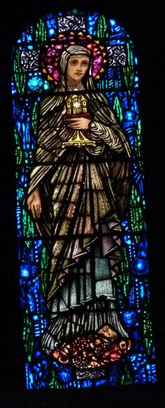 Stained glass by Harry Clarke