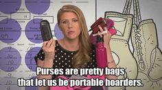 Hence the reason I carry huge bags... book, notebook, cell phone charger, chapstick, lotion.....