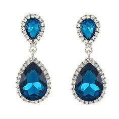 Double Tear Drop - Bridal Party Earrings