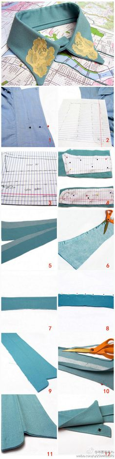 [Tutorial] popular in European and American fashion handmade false collar ~ ~ see the warm touch OK, everyone to be a fashion to