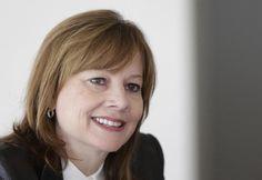 5: General Motors chief executive Mary Barra. REUTERS/Carlos Osorio/Pool