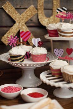 Sparkly Vintage Valentine's Day Inspiration
