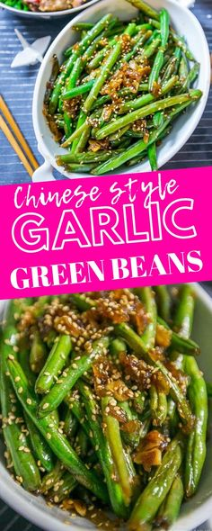 chinese designs garlic style green beans sweet cs Garlic Chinese Style Green Beans Sweet Cs DesignsYou can find Chinese food recipes and more on our website Authentic Chinese Recipes, Chinese Chicken Recipes, Easy Chinese Recipes, Asian Recipes, Healthy Recipes, Korean Chicken, Korean Beef, Healthy Food, Thai Recipes