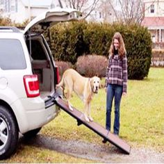 "-""Travel Lite Bi-Fold Half Ramp"" - BD Luxe Dogs & Supplies"