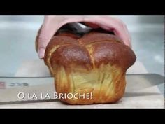 No Knead Brioche - weekendbakery.com - YouTube