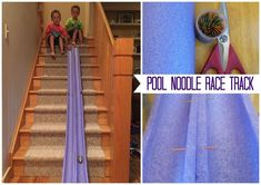 Looking for a great indoor play option for your race car loving kids? Make this Pool Noodle Race Track in minutes! Games For Kids Classroom, Building Games For Kids, Indoor Games For Kids, Online Games For Kids, Activities For Teens, Rainy Day Activities, Games For Teens, Indoor Play, Summer Activities