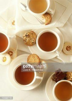Stock Photo : TEA AND COOKIES