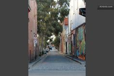 Little George St from Gertrude, Collingwood/Fitzroy Melbourne AUS