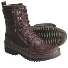 Sorel Kingston Peak Boots - Waterproof, Leather (For Men) in Bark - Closeouts