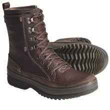 Sorel Kingston Peak Boots - Waterproof, Leather (For Men) in Bark - Closeouts