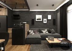 Salon w klimacie industrialnym - zdjęcie od MONOstudio - Salon - Styl Industrialny - MONOstudio