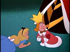 *ALICE & THE KING of HEARTS ~ Alice in Wonderland-1951