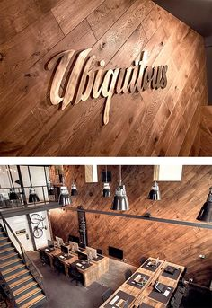 Wooden Office by Ubiquitous   Inspiration Grid   Design Inspiration