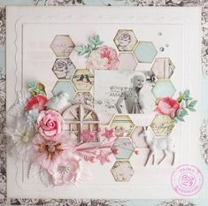 Steph Devlin #prima #scrapbooking