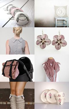 Lady in pink by Hagit Colb on Etsy--Pinned with TreasuryPin.com