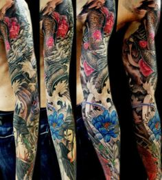 Tattoo Artist - Domantas Parvainis - www.worldtattoogallery.com/sleeve_tattoos