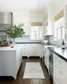 California Farmhouse White Kitchen