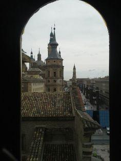Plaza del Pilar desde el Torreón de la Zuda  #Zaragoza #Aragon