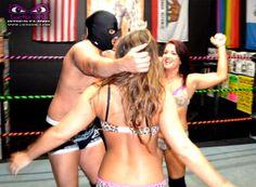 Lucha Girls >>> Cheetah Girls vs Masked Bad Dudes