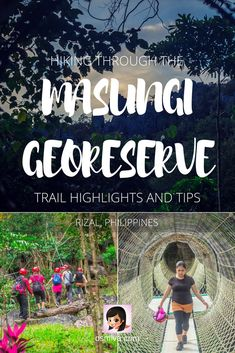 Hiking the Masungi Georeseve: Trail Highlights and Tips #travelph #philippines #rizalphilippines #masungiGeoreserve #osmiva