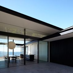 Tobias Partners Whale Beach House View - love the sliding glass doors